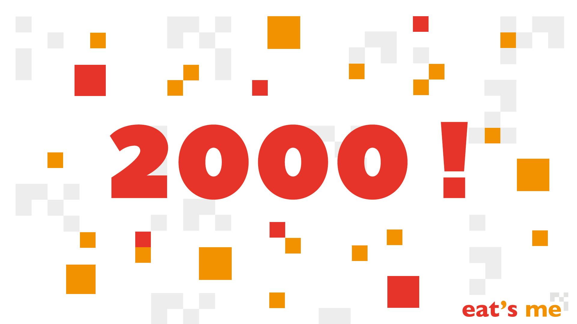 2000 téléchargements